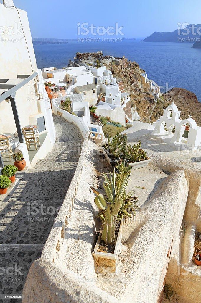 Oia village - Santorini (XXXL size) royalty-free stock photo