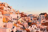 Oia village, Santorini.