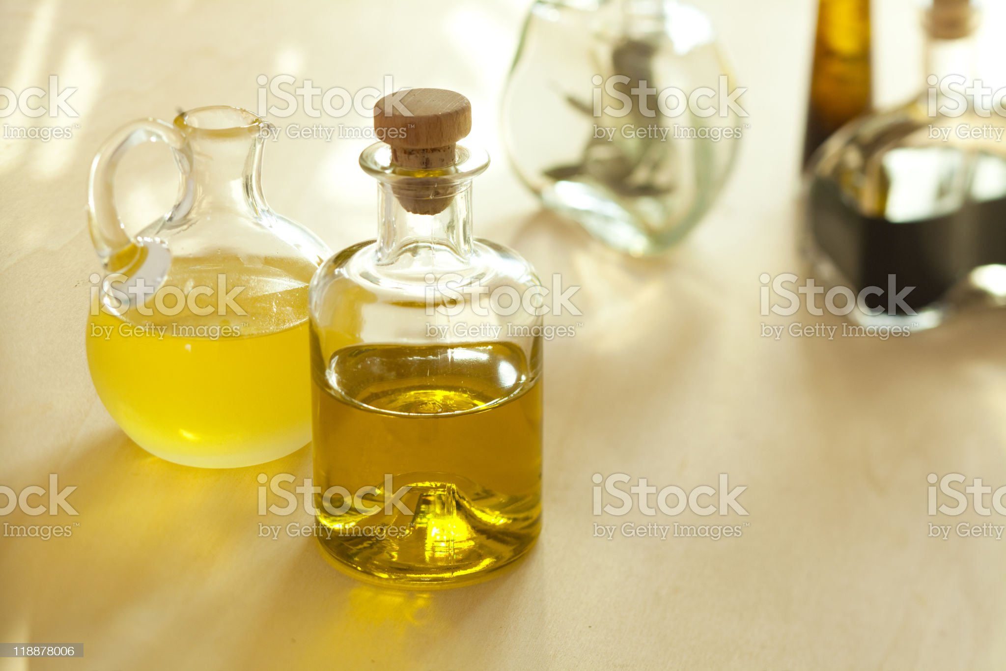 oil and balsamic vinegar royalty-free stock photo