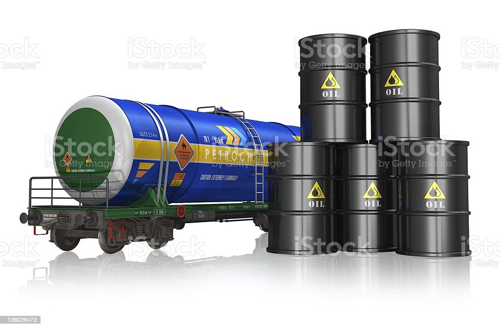 Oil and gas industry concept royalty-free stock photo
