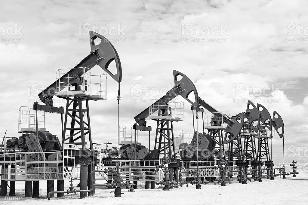 Oil and gas industry stock photo