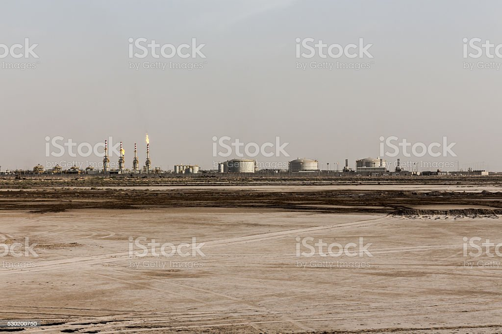 Oil and gas Rafinery stock photo