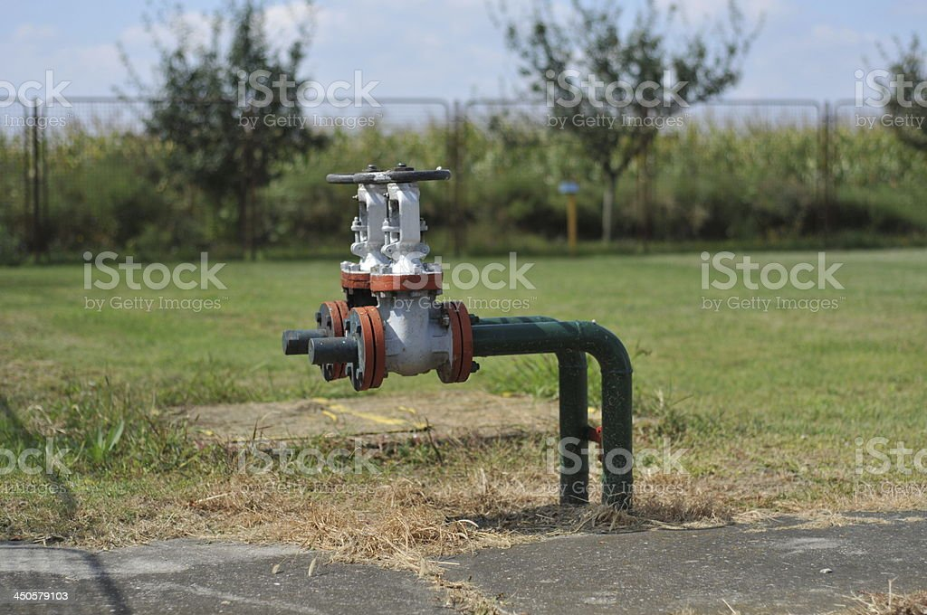 oil and gas-processing industry stock photo