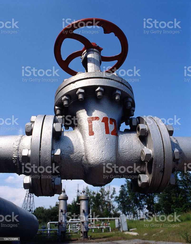 Oil and Natural Gas Industry royalty-free stock photo