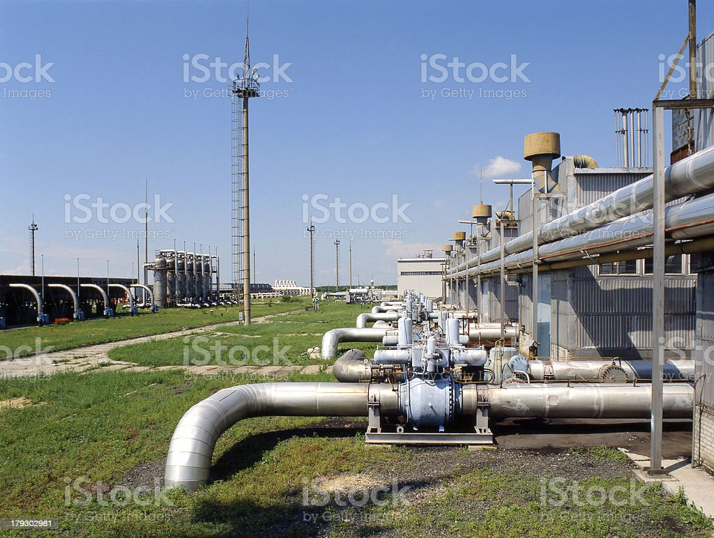 Oil and Natural Gas Industry stock photo