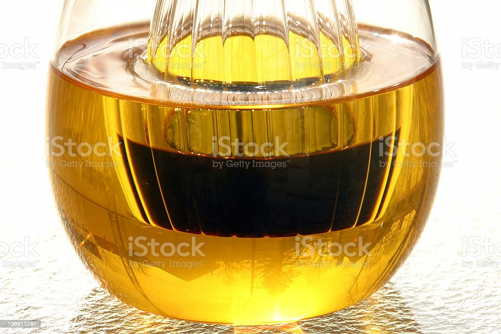 Oil and Vinegar 1 royalty-free stock photo