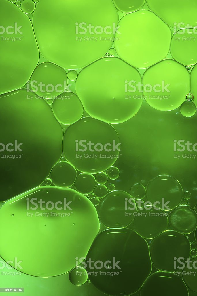 oil and water abstract background royalty-free stock photo