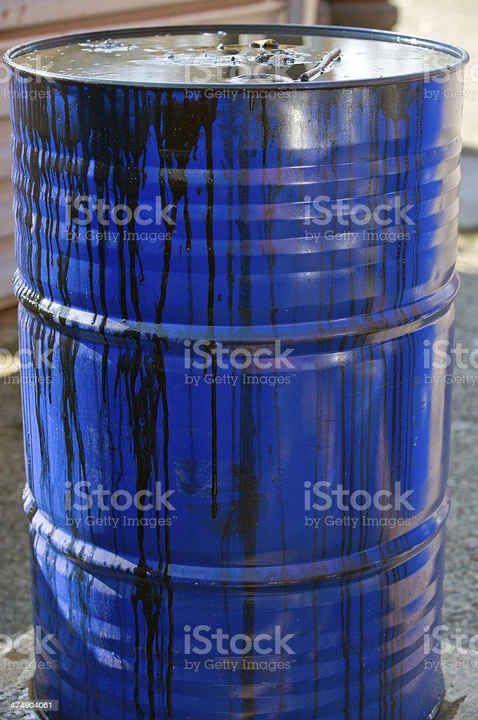 oil barrel royalty-free stock photo