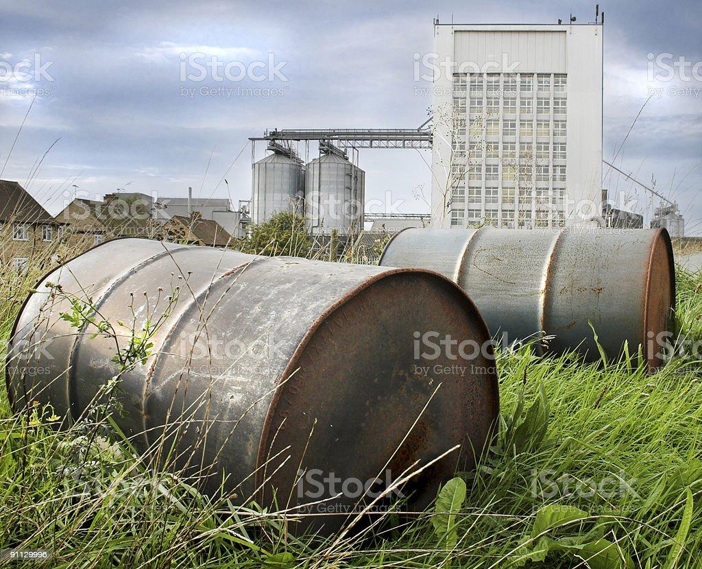 Baryłki ropy naftowej zbiór zdjęć royalty-free