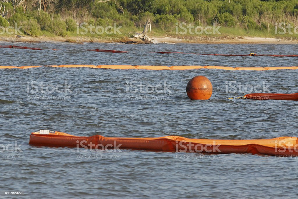 Oil Boom royalty-free stock photo