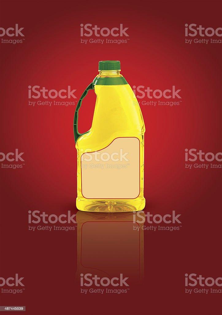 oil bottle stock photo