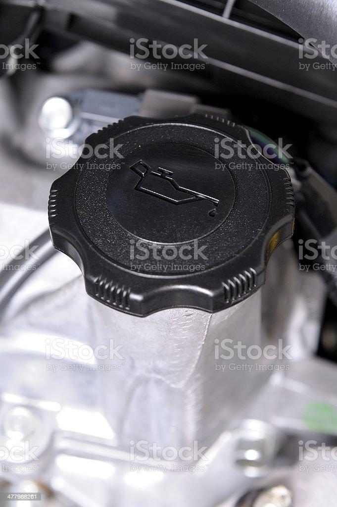 oil cap stock photo