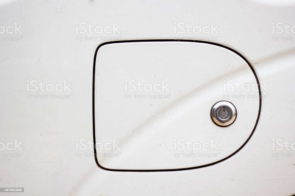 Oil cap royalty-free stock photo