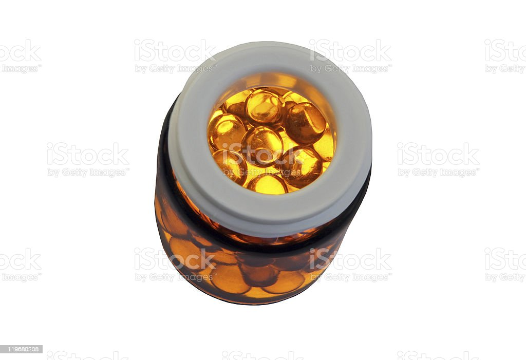 oil capsule royalty-free stock photo