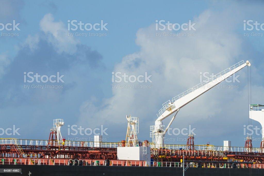 Oil Cargo Ship stock photo