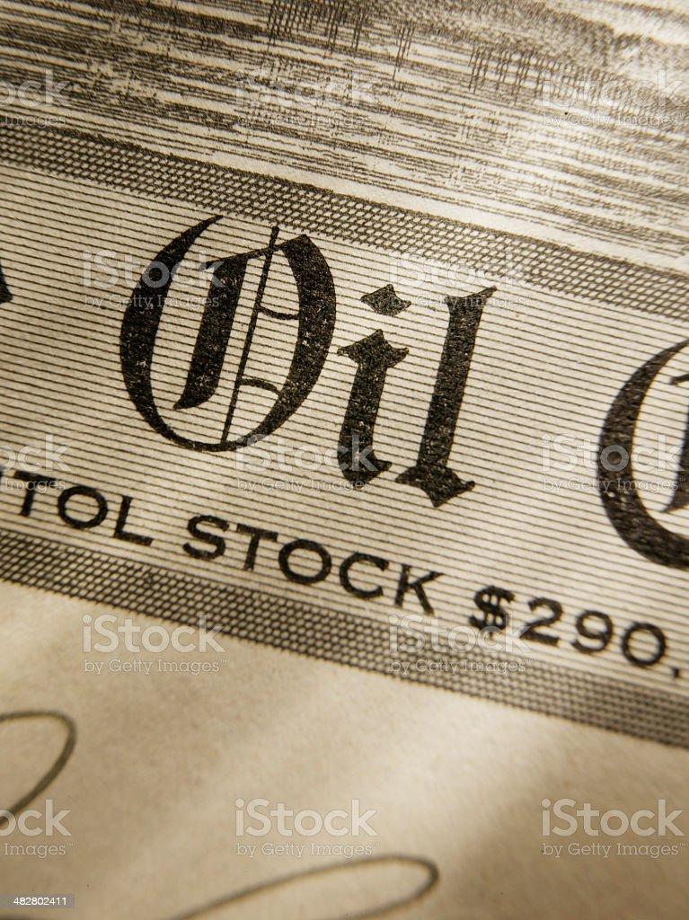 Oil Company royalty-free stock photo