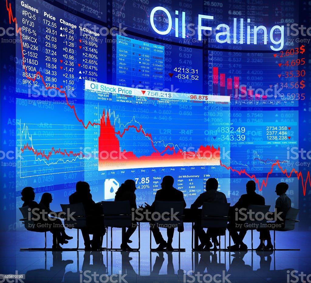 Oil Crisis stock photo