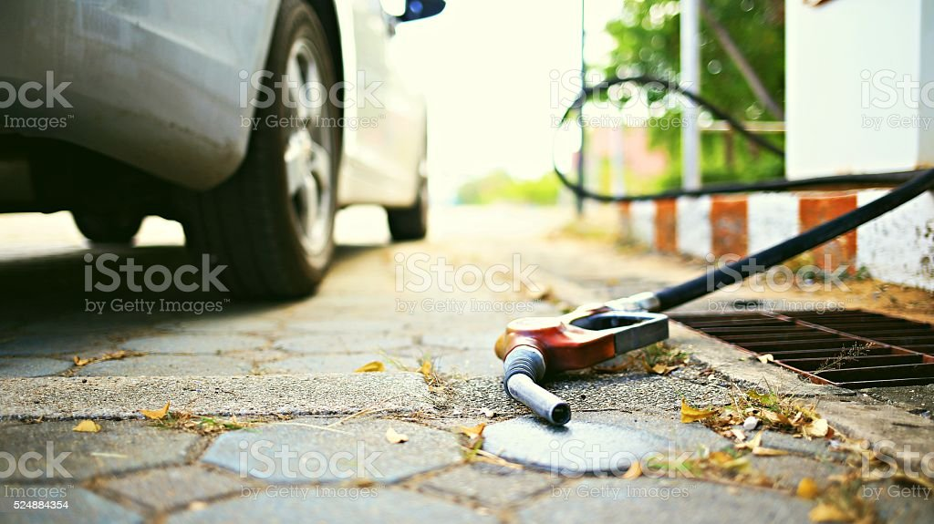 Oil crisis stock photo
