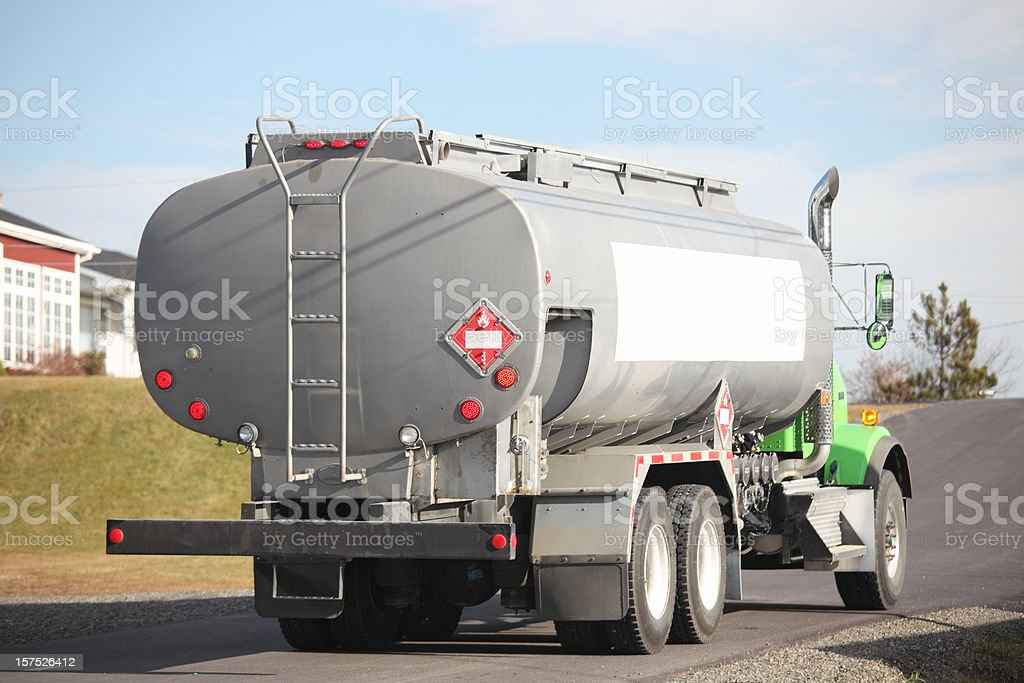 Oil Delivery Truck royalty-free stock photo