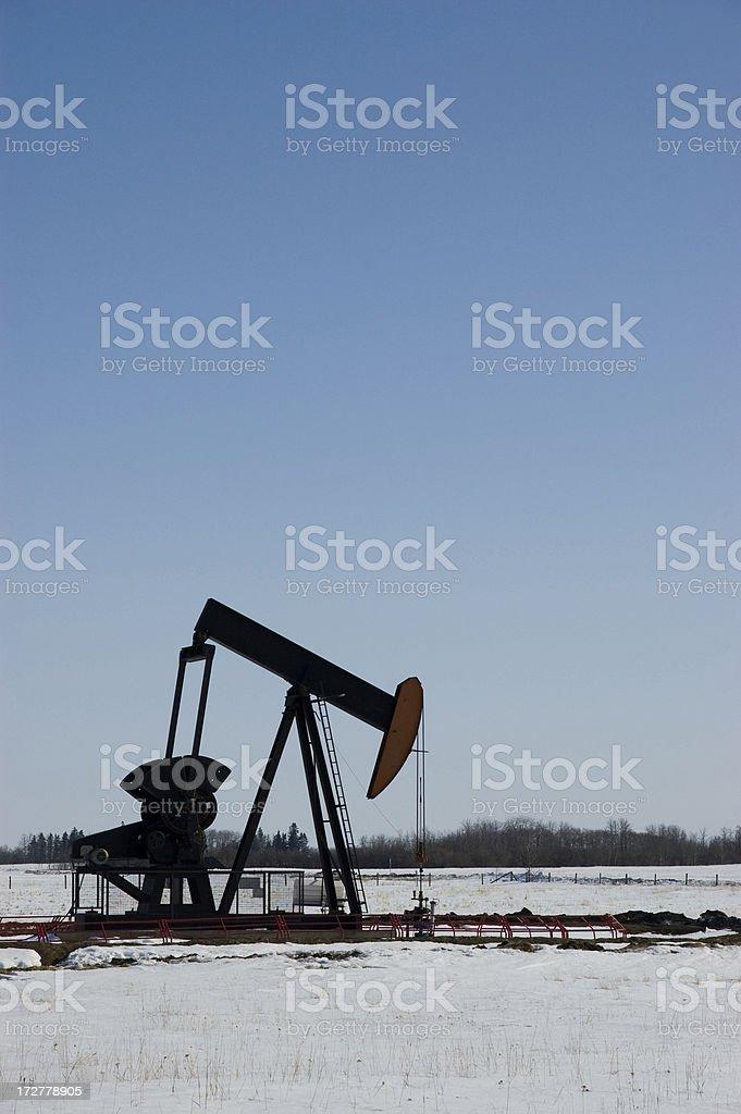 Oil Derrick 3 royalty-free stock photo