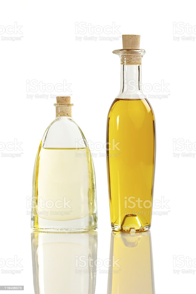 Oil difference stock photo