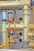 Oil diffusion equipment
