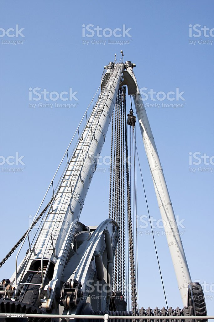 Oil drill royalty-free stock photo