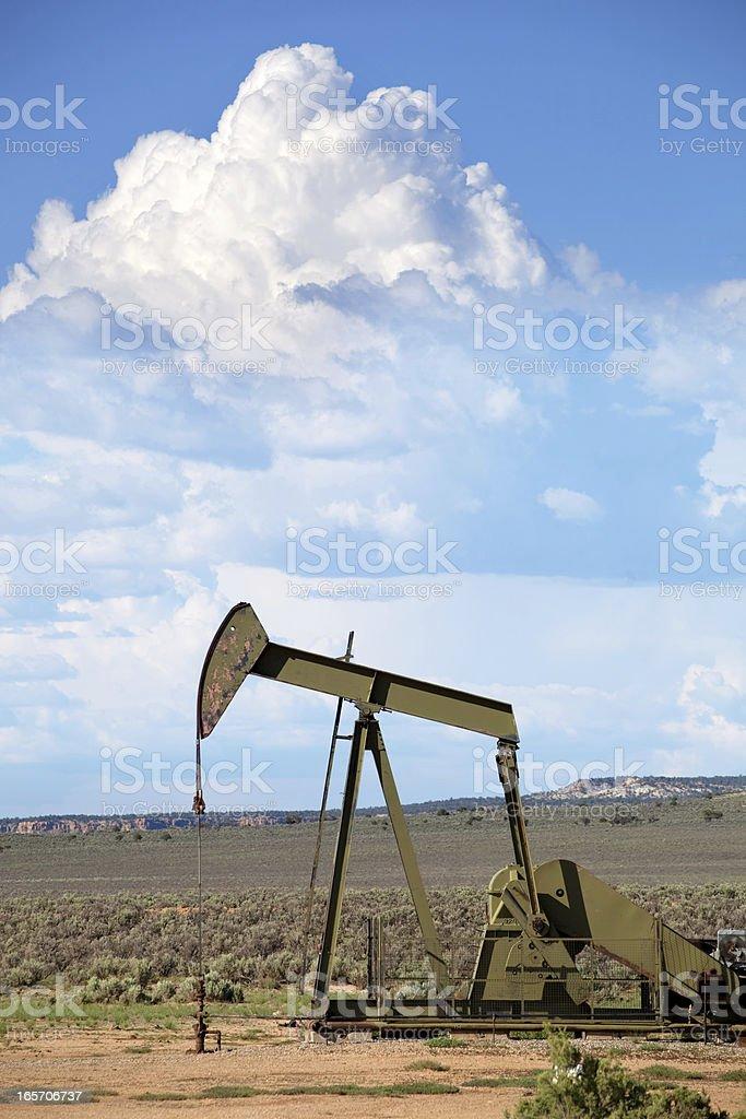 oil drill stock photo