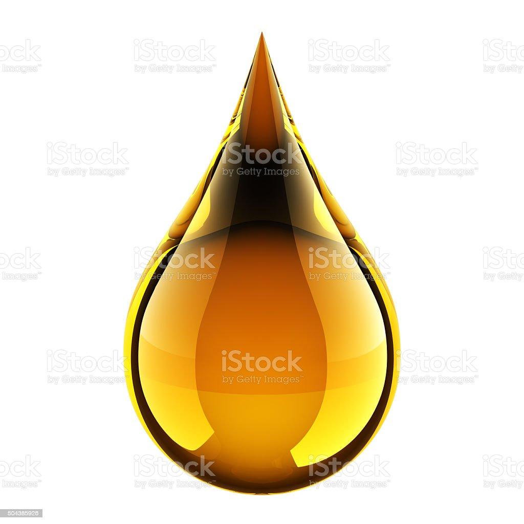 Oil Drop stock photo