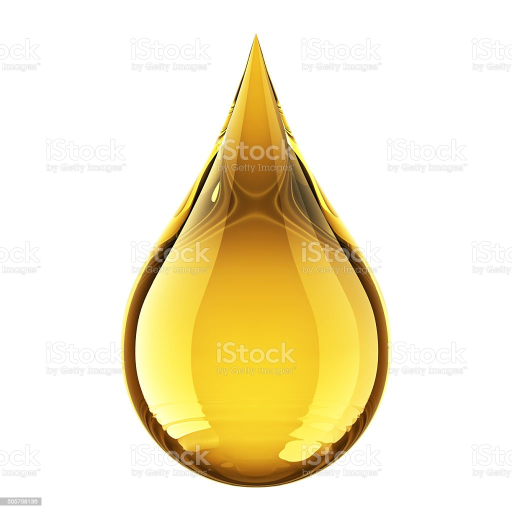 Oil Drop stock photo