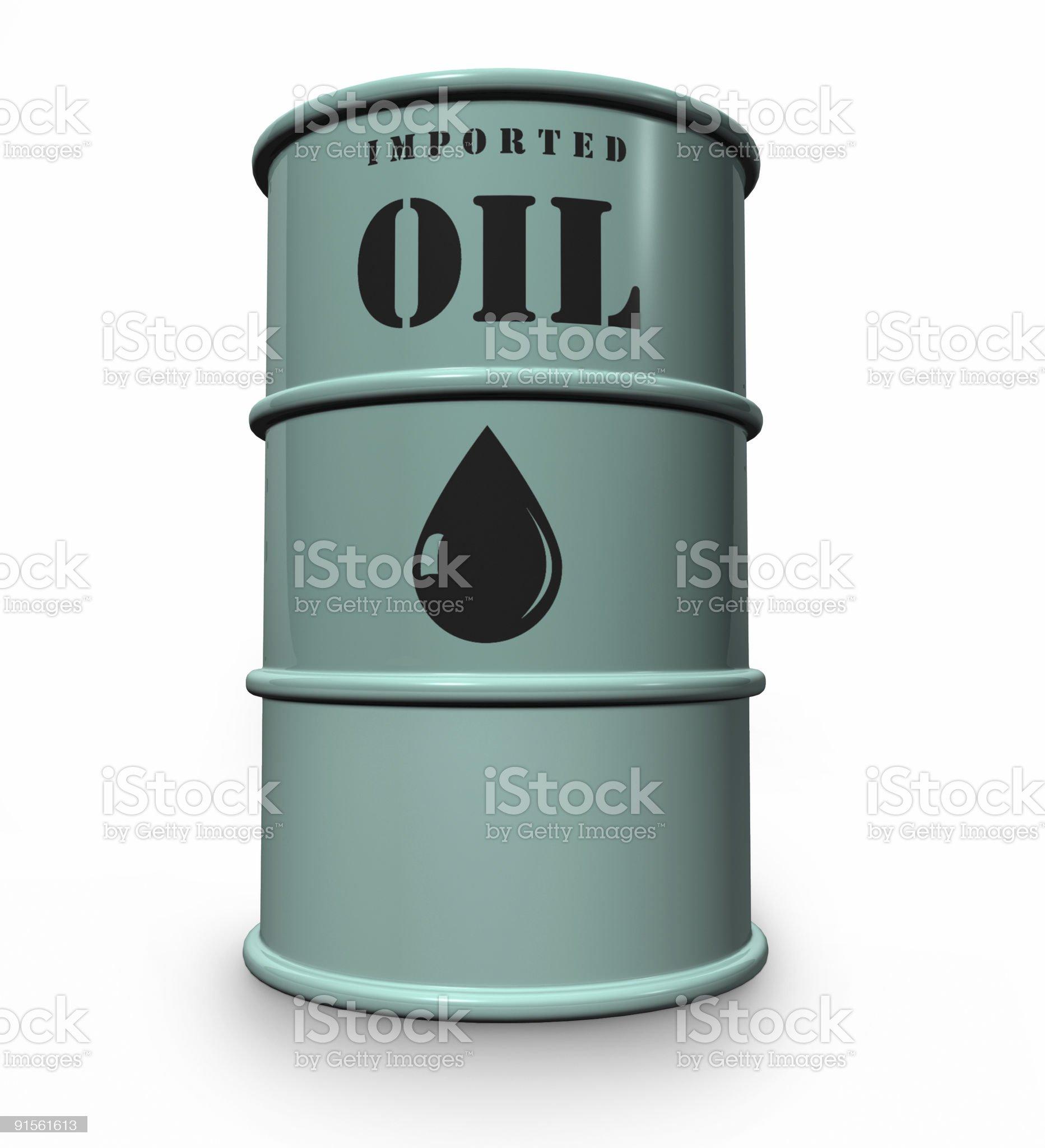 oil drum royalty-free stock photo