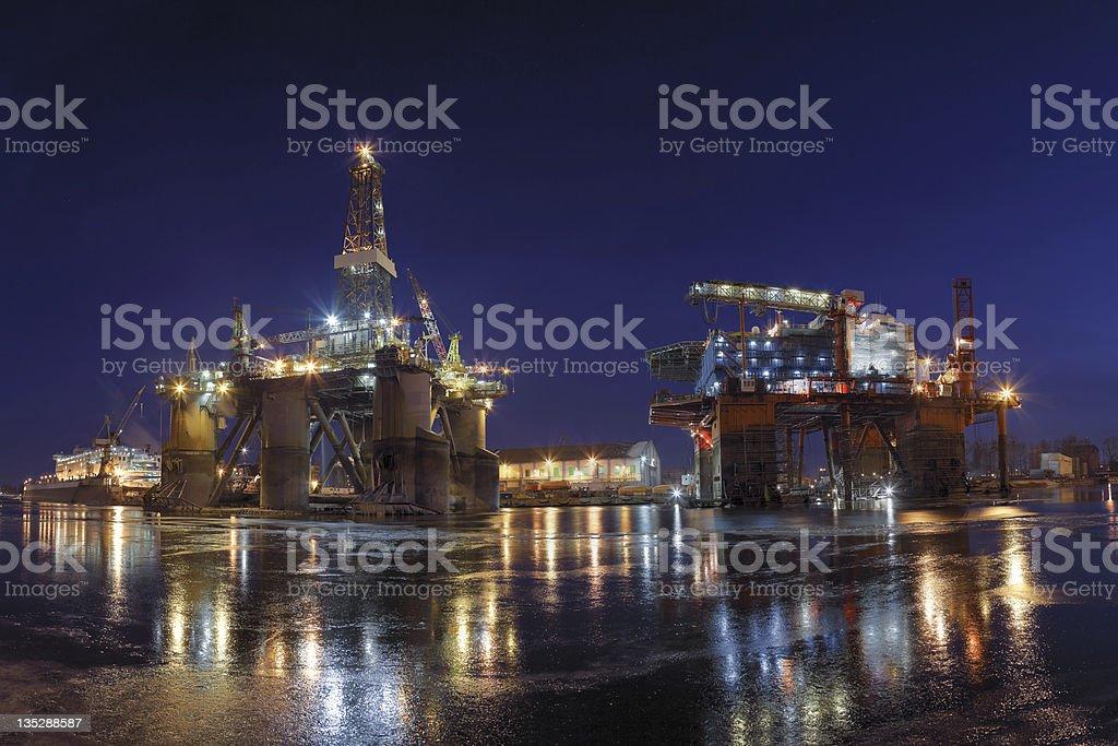 Oil Empire stock photo
