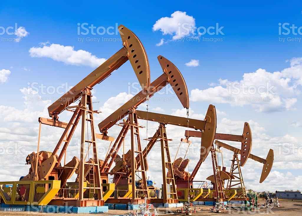 oil field stock photo