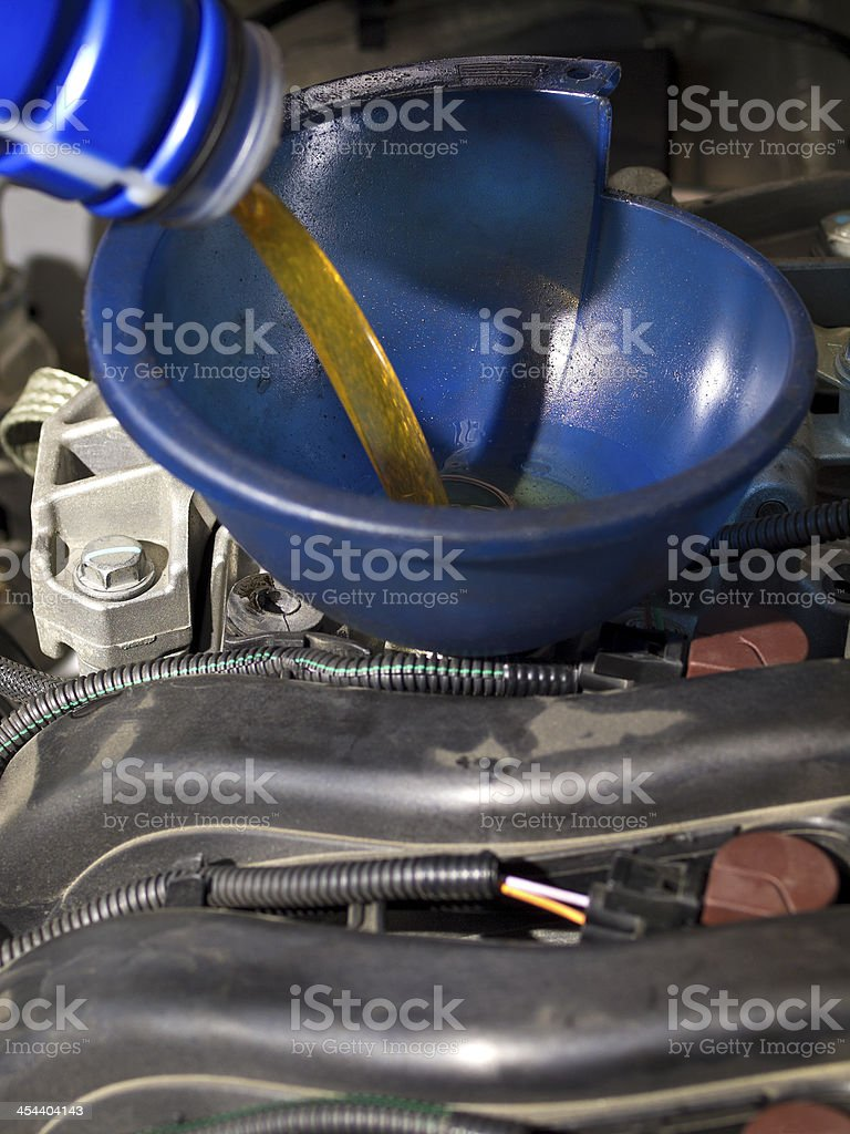 Oil Filling royalty-free stock photo