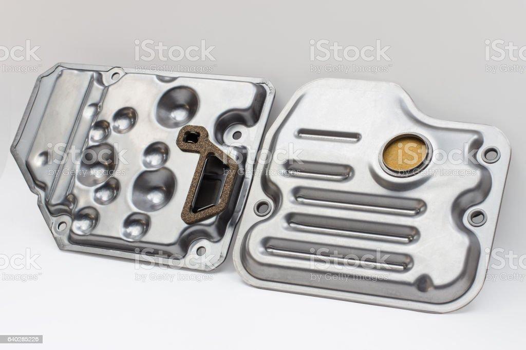 oil filter (strainer) stock photo
