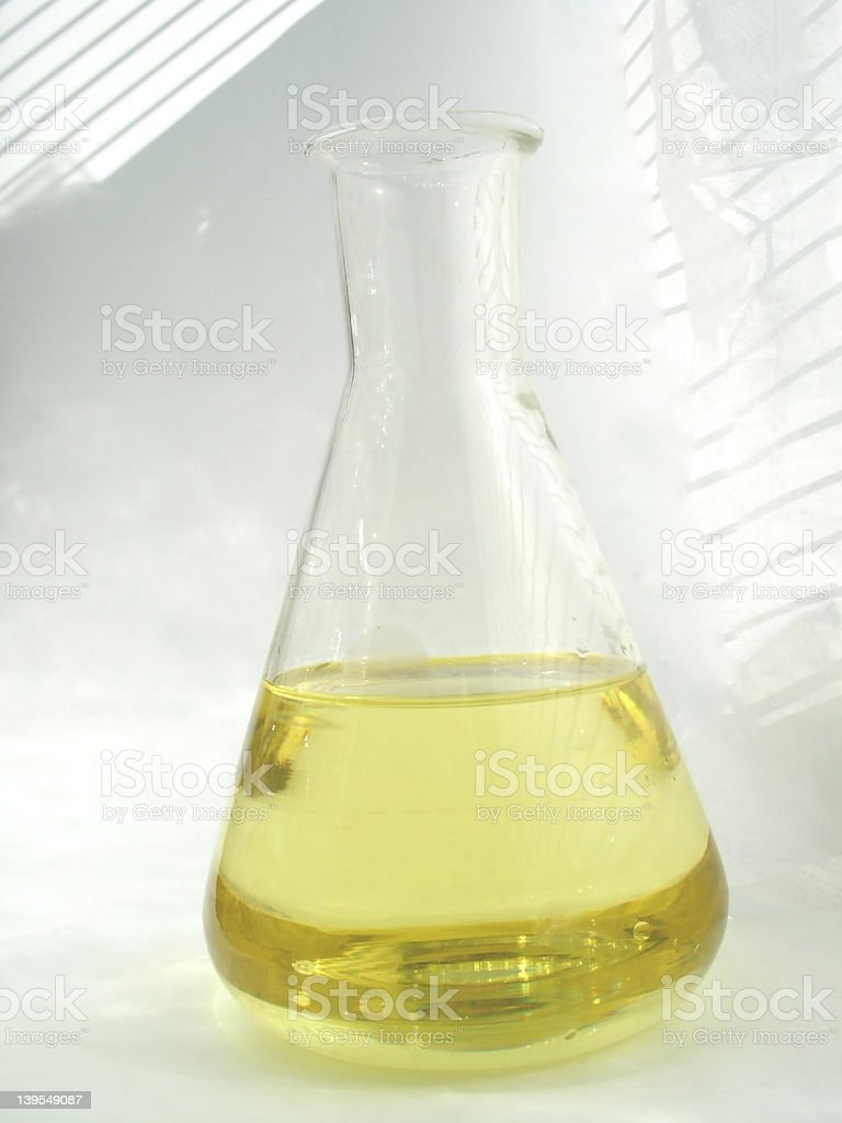 oil - flask royalty-free stock photo