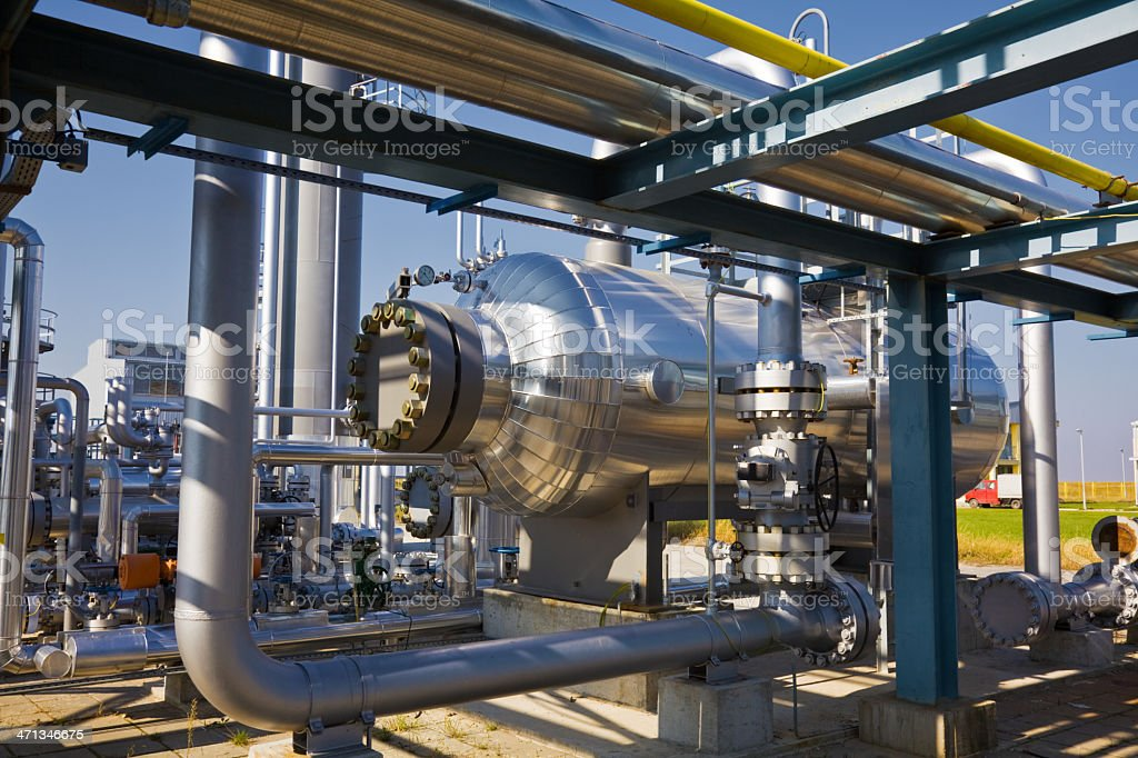 Oil & Gas royalty-free stock photo