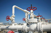 Oil gas processing plant