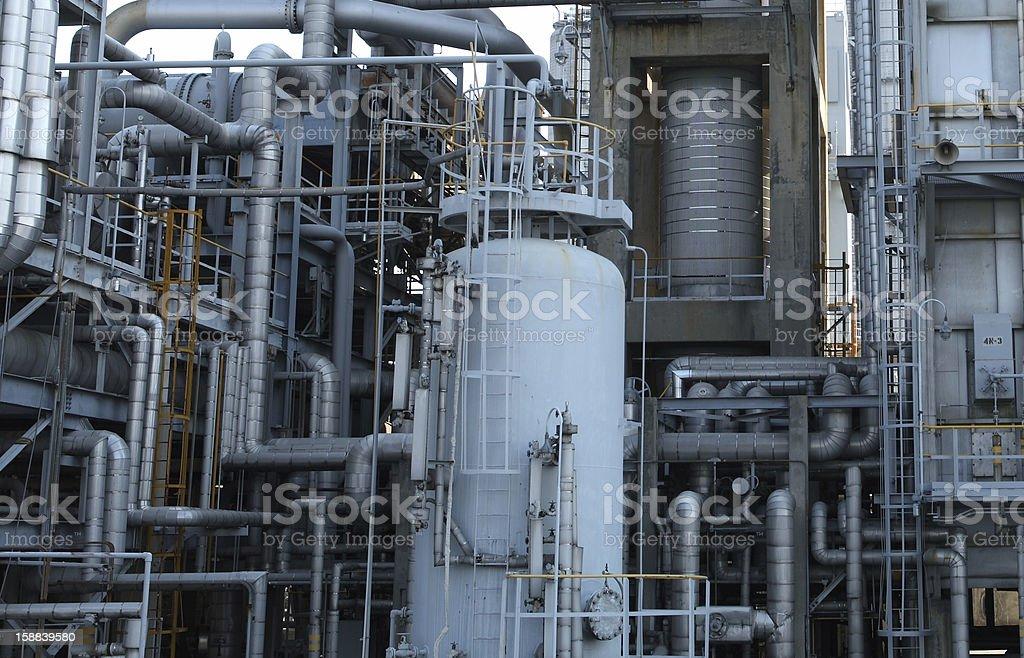 Öl Industrie installation Lizenzfreies stock-foto
