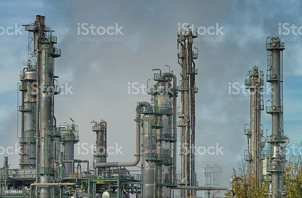 oil industry royalty-free stock photo