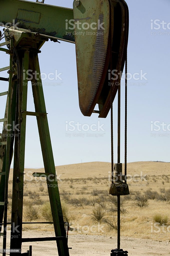 oil jack stock photo