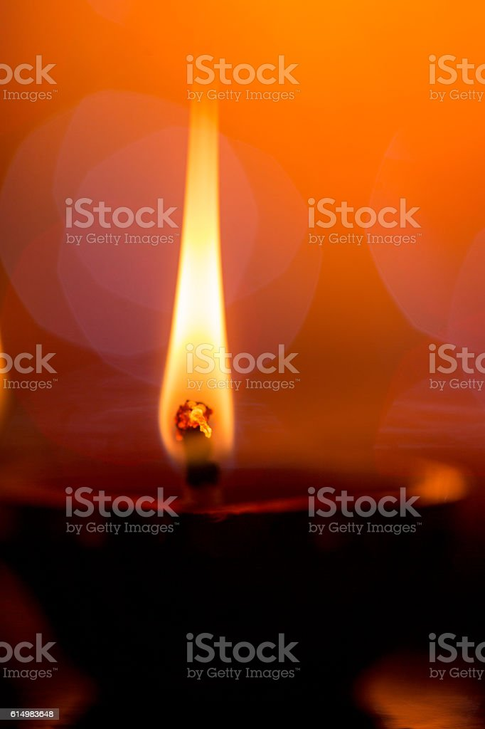 oil lamp for diwali festival stock photo