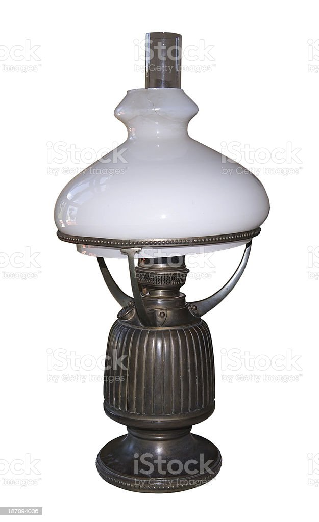 Oil lamp of 19 centuries royalty-free stock photo