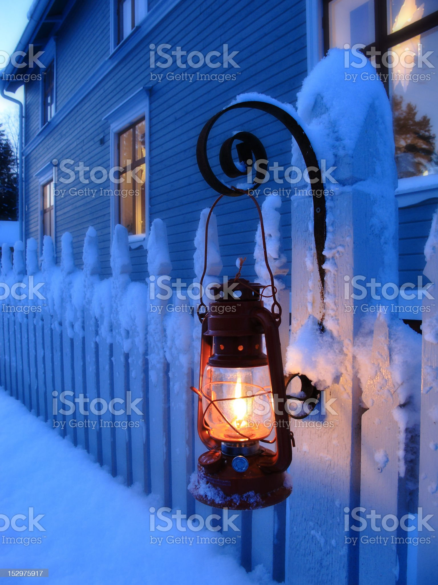 Oil lamp royalty-free stock photo