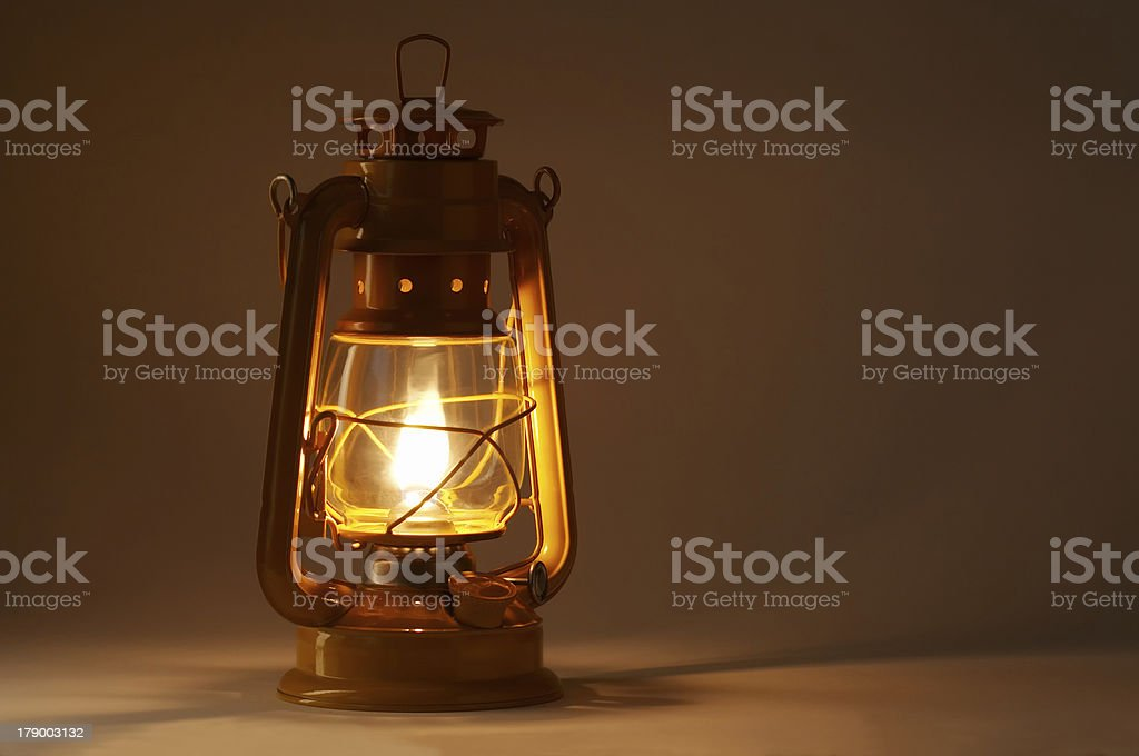 Oil lamp royalty-free stock photo