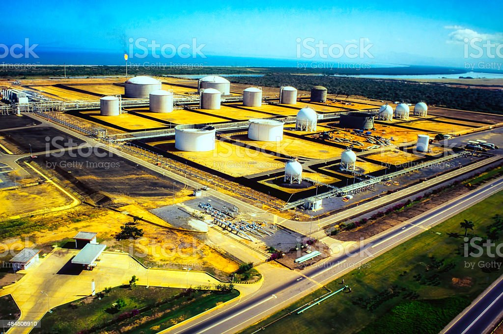 Oil Modern Industry stock photo