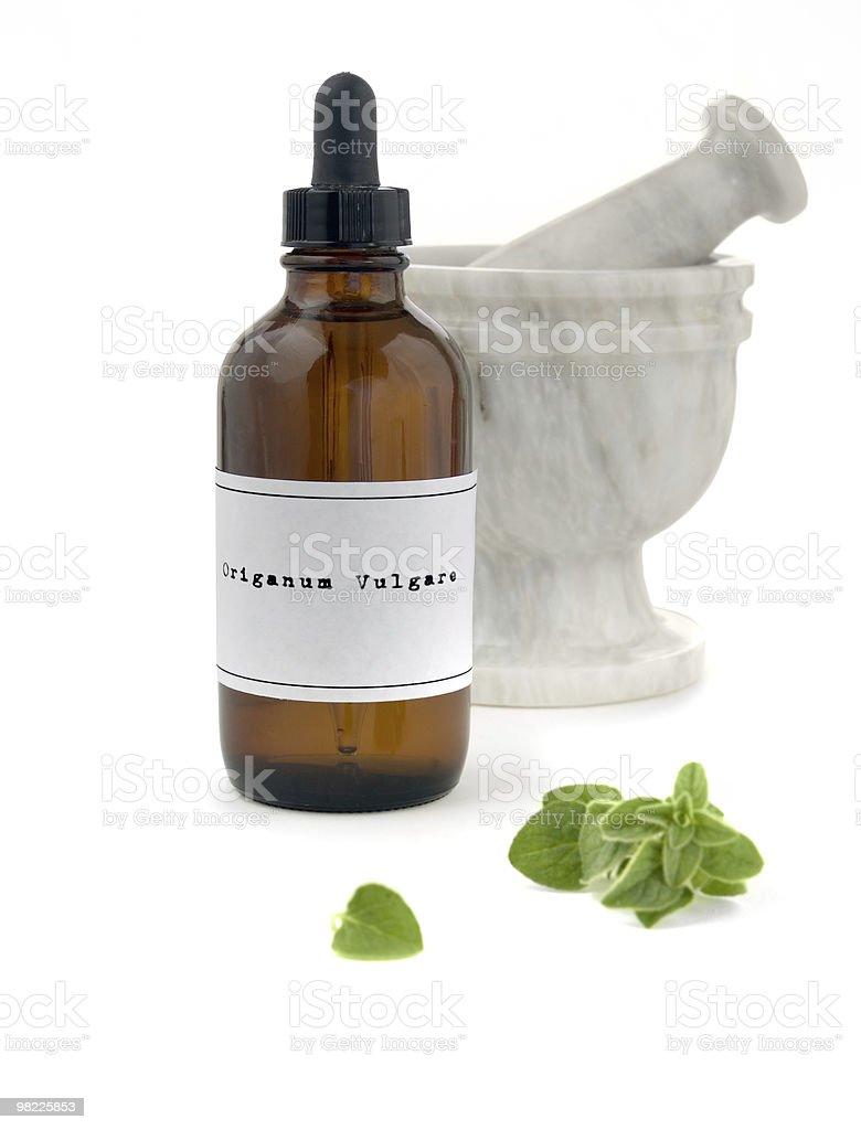 Oil of oregano royalty-free stock photo