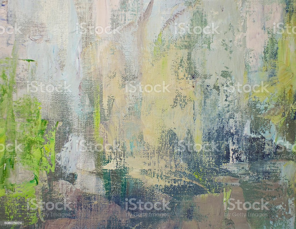 oil on canvas, contrast fragment stock photo