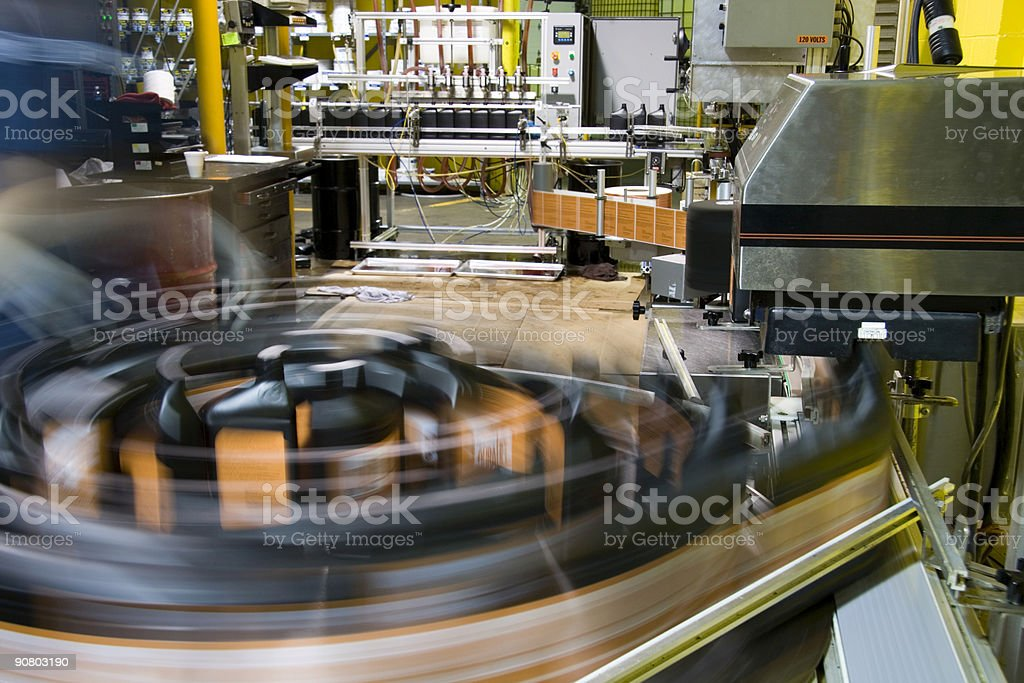Oil packaging 3 royalty-free stock photo