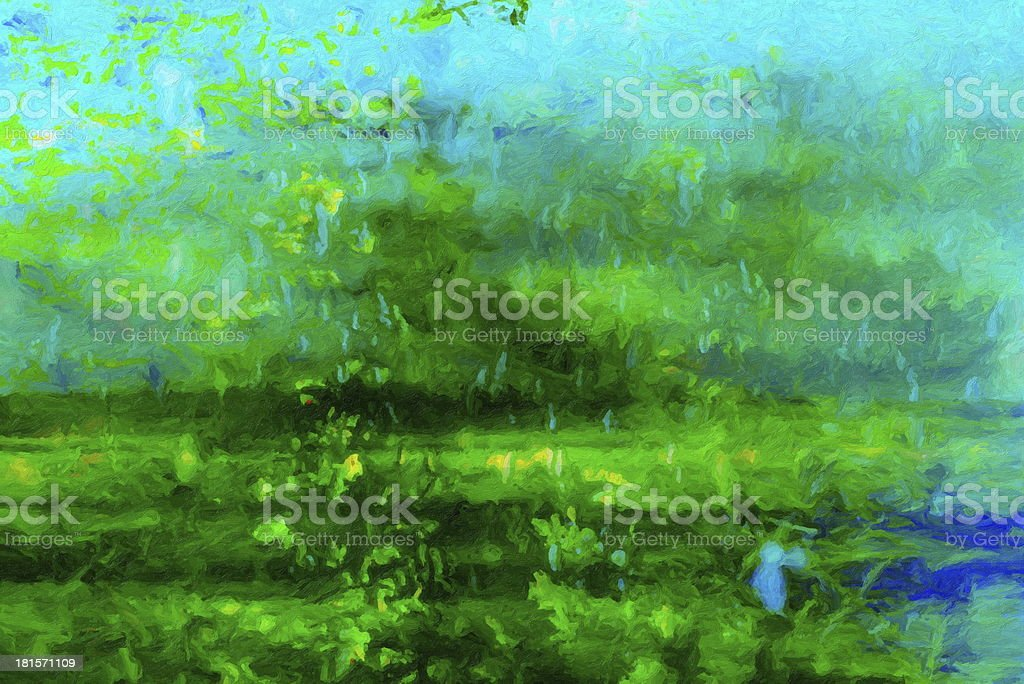 Oil paint background royalty-free stock vector art